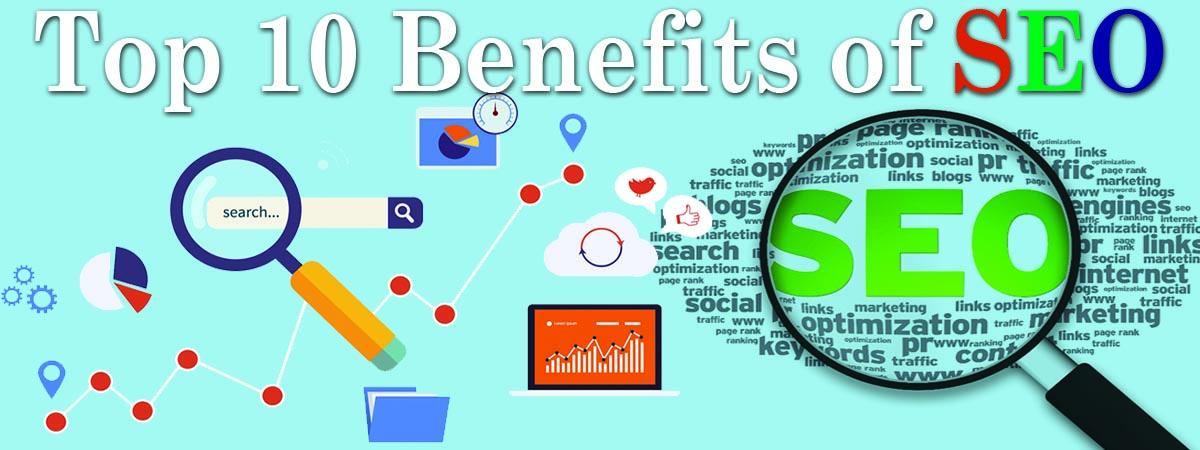 Top 10 Benefits of SEO